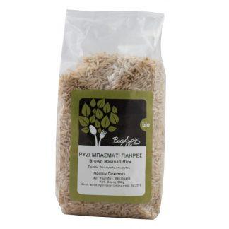 Βιολογικό ρύζι μπασμάτι πλήρες 500g, Βιοαγρός