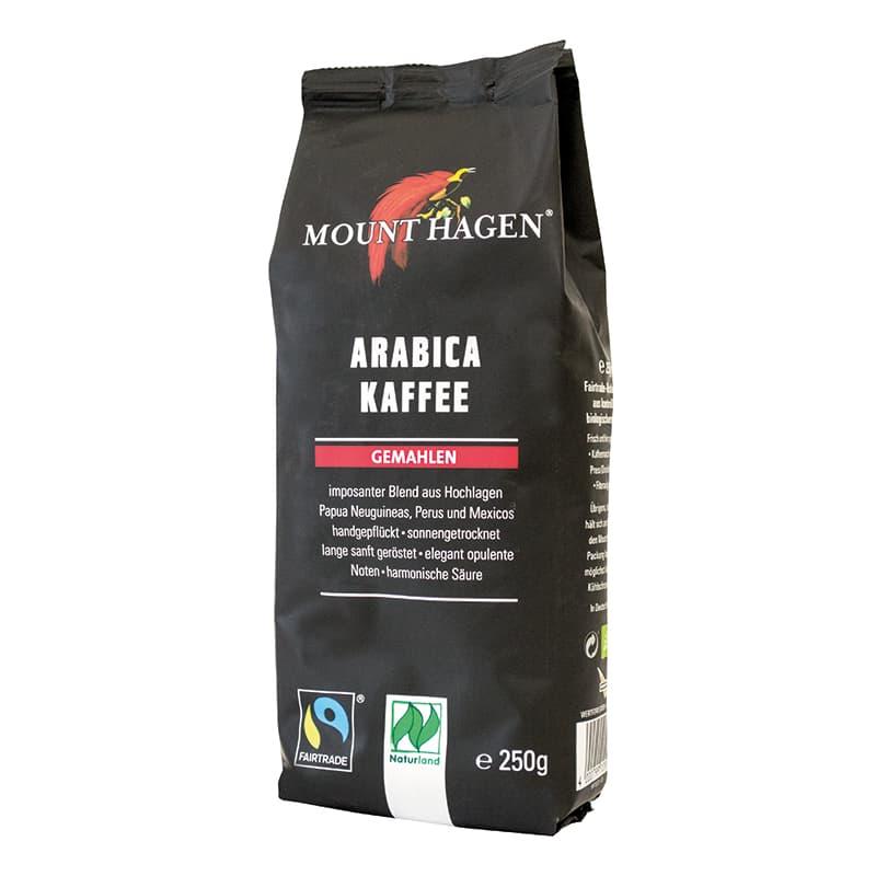 Βιολογικός καφές φίλτρου γαλλικός 250g, Mount Hagen
