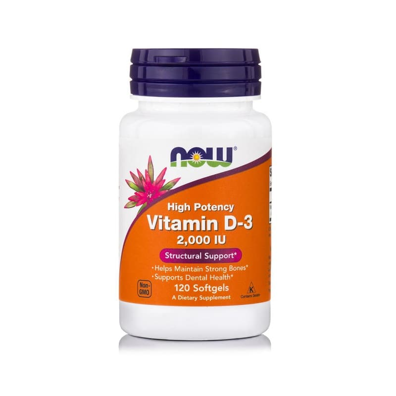 Βιταμίνη D-3 (2.000 IU), 120 Softgels