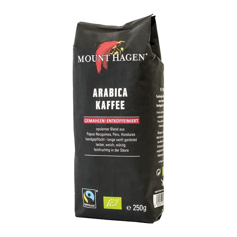 Βιολογικός καφές φίλτρου γαλλικός χωρίς καφεΐνη 250g, Mount Hagen