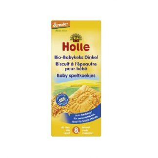 Βιολογικά μπισκότα από ντίνκελ 150g, Holle