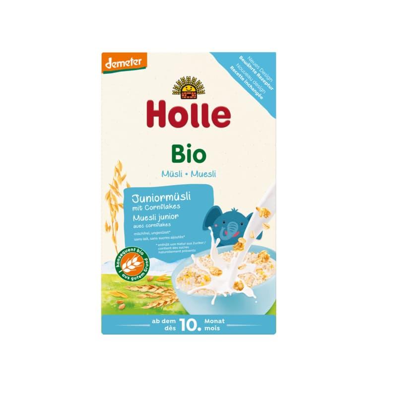 Βιολογικό βρεφικό μούσλι πολύσπορο με νιφάδες καλαμποκιού 250g, Holle