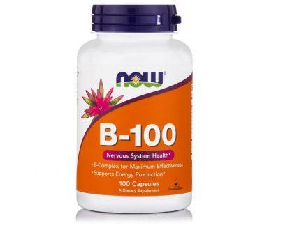 Βιταμίνη B-100 COMPLEX, 100caps