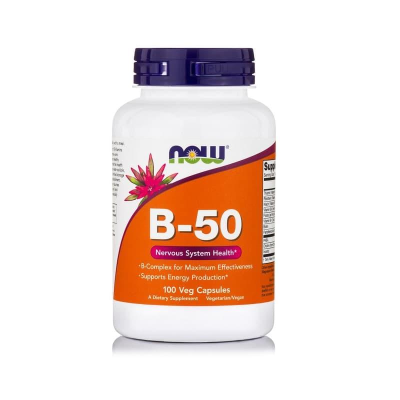 Βιταμίνη B-50 COMPLEX, 100 VCaps