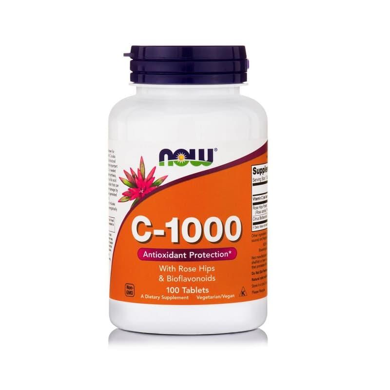 Βιταμίνη C-1000, 100 tablets