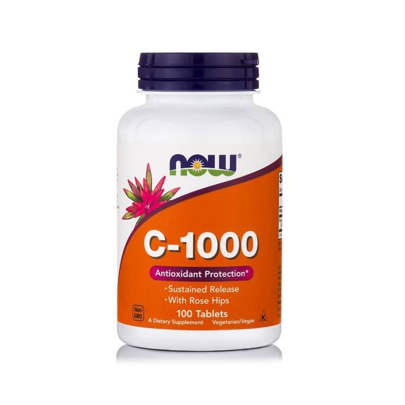 Βιταμίνη C-1000 Sustained Release, 100 tablets