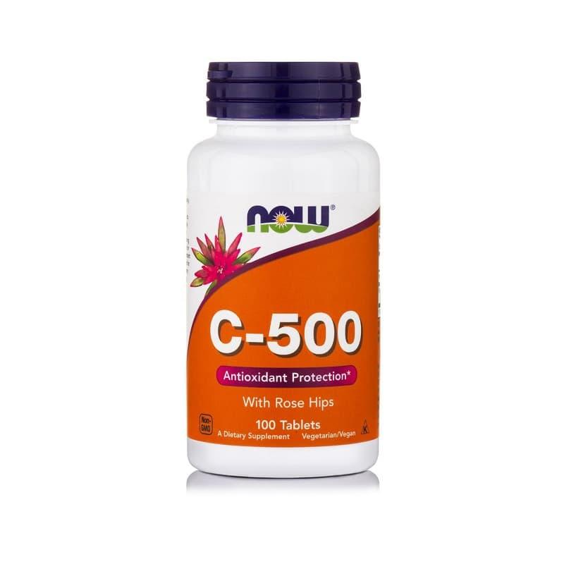 Βιταμίνη C-500, 100 tablets