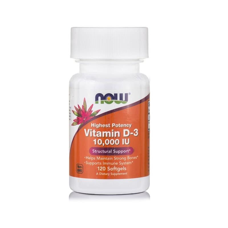 Βιταμίνη D-3 (10.000 IU), 120 Softgels