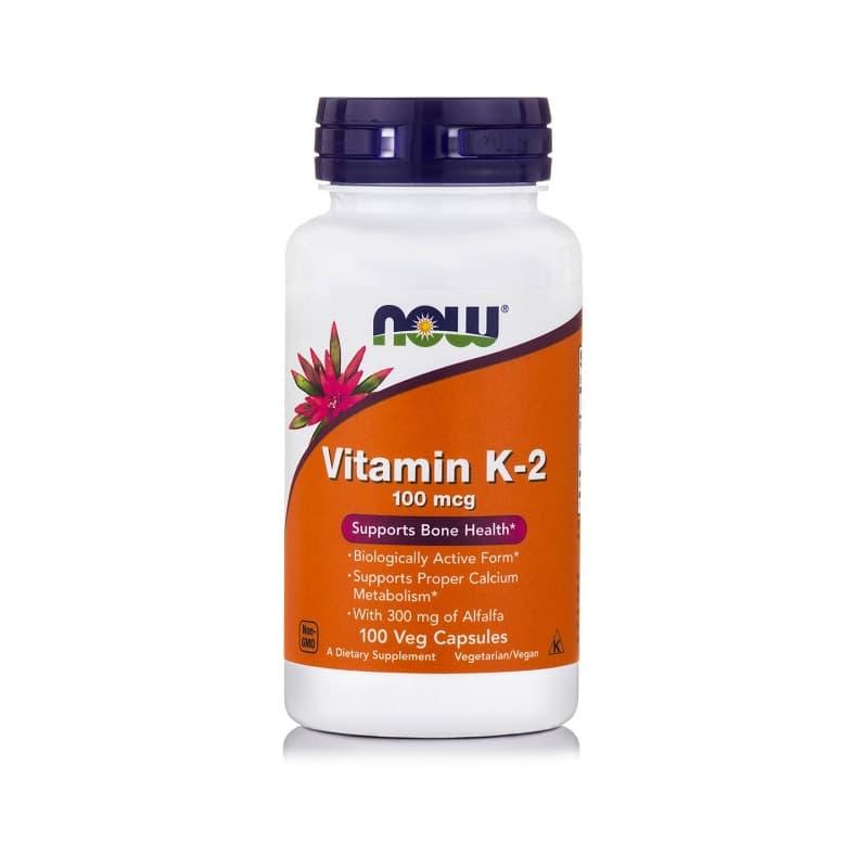 Βιταμίνη K-2 (100mcg), 100Vcaps