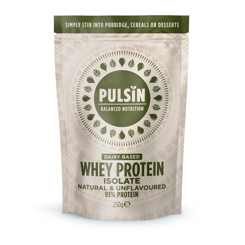 Πρωτεΐνη ορού γάλακτος 250g, Pulsin