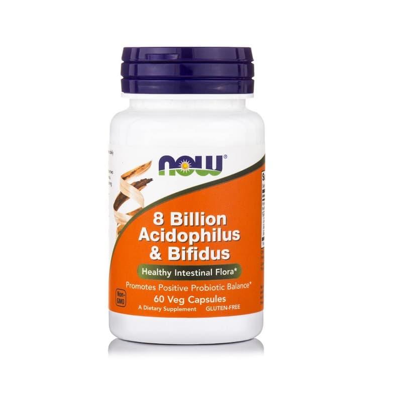 8 Billion Acidophilus & Bifidus, 60 Vcaps