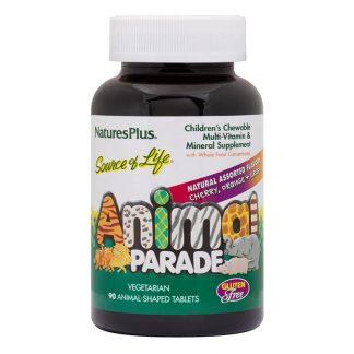 Animal Parade παιδική πολυβιταμίνη 90 μασώμενες ταμπλέτες