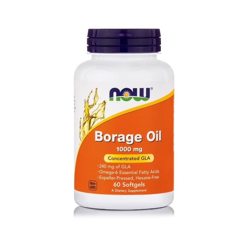 Borage oil 1.000mg, 60 Softgels