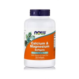 Calcium & Magnesium, 120 Softgels