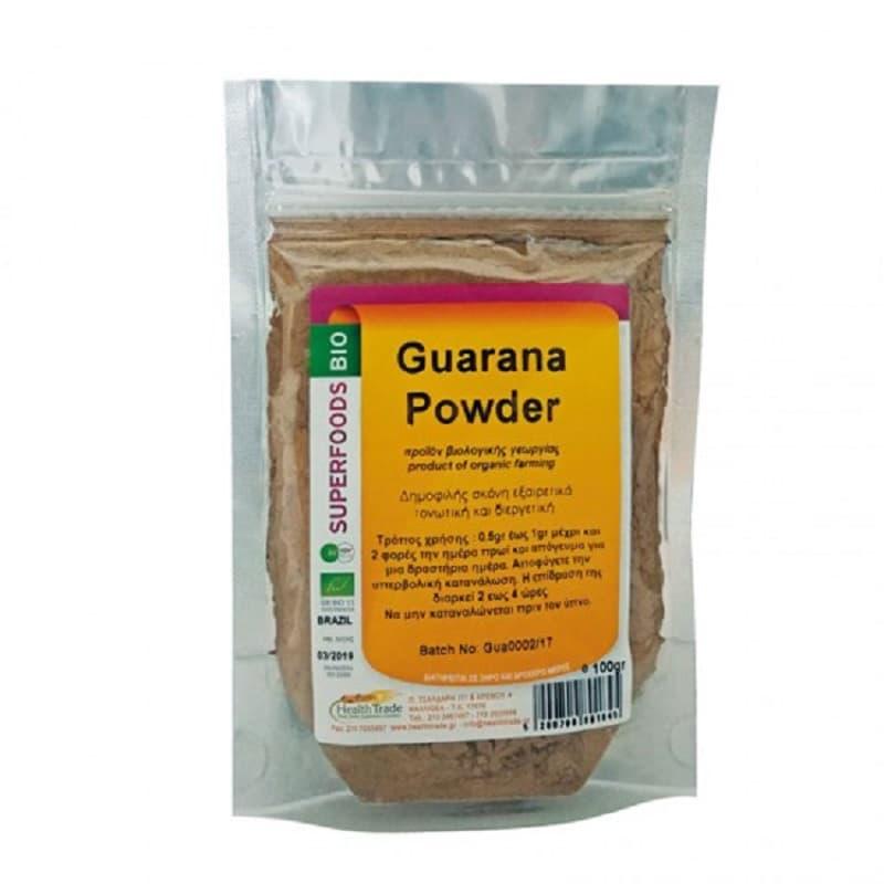 Βιολογικό Guarana (Γκουαρανά) σε σκόνη 100g, Health Trade