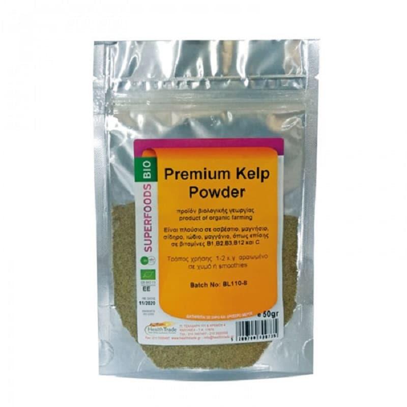 Βιολογικό Kelp (Φύκος) σε σκόνη 50g, Health Trade