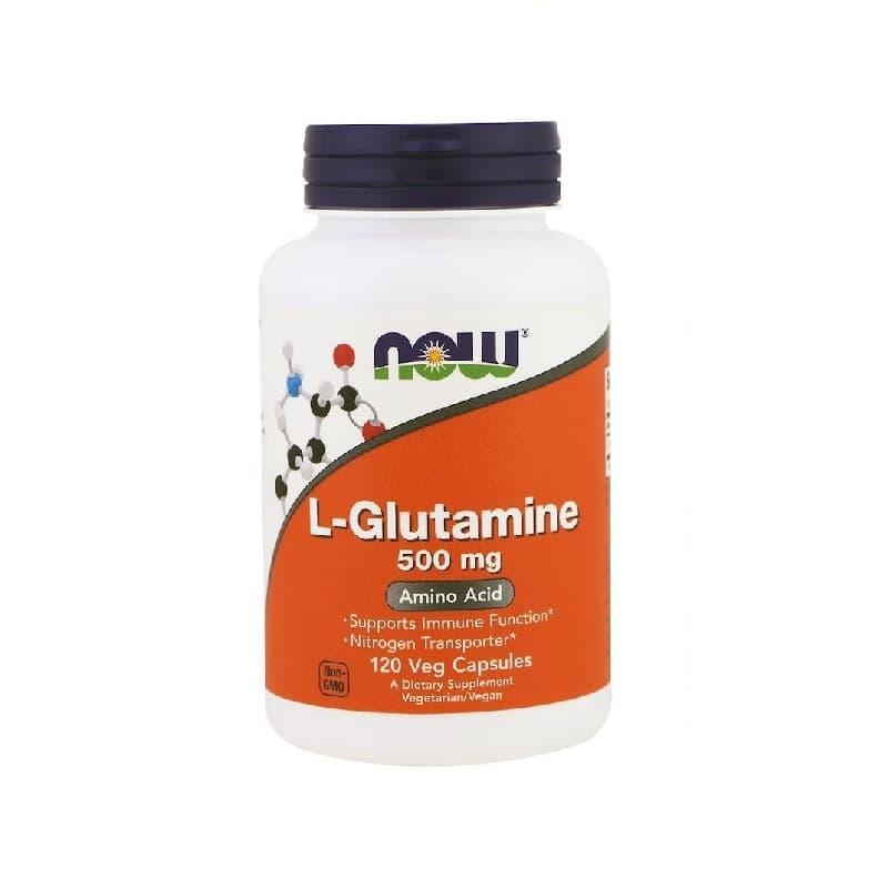 L-Glutamine 500mg, 120 Vcaps