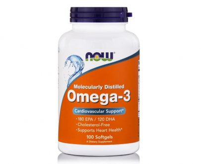Omega-3 1000mg, 100 Softgels