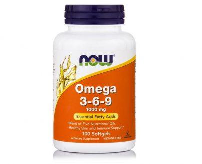 Omega 3-6-9 1000mg, 100 Softgels