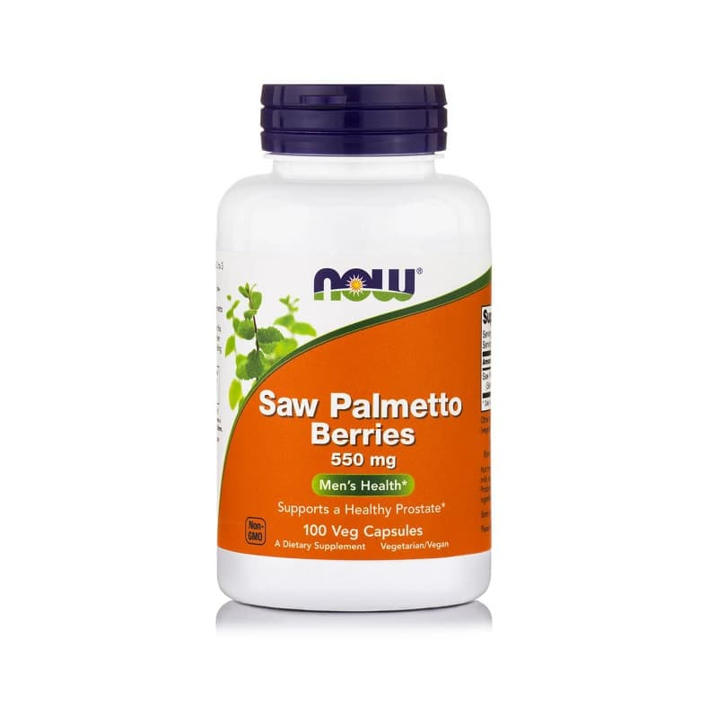Saw Palmetto Berries 550mg, 100 Vcaps