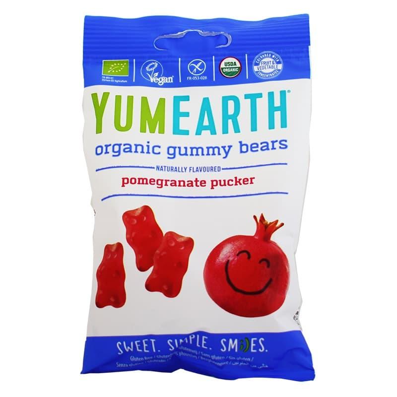 Βιολογικά ζελεδάκια ροδιού 50g, YumEarth