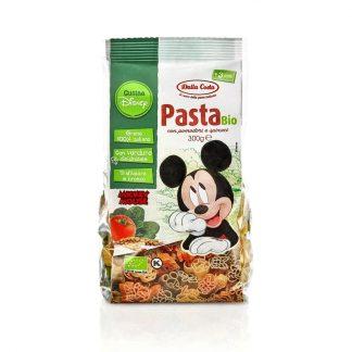 Βιολογικά ζυμαρικά Mickey Mouse τομάτα-σπανάκι 300g, Dalla Costa
