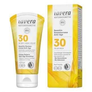 Αντηλιακή κρέμα με αντιγηραντική δράση SPF30 50ml, lavera