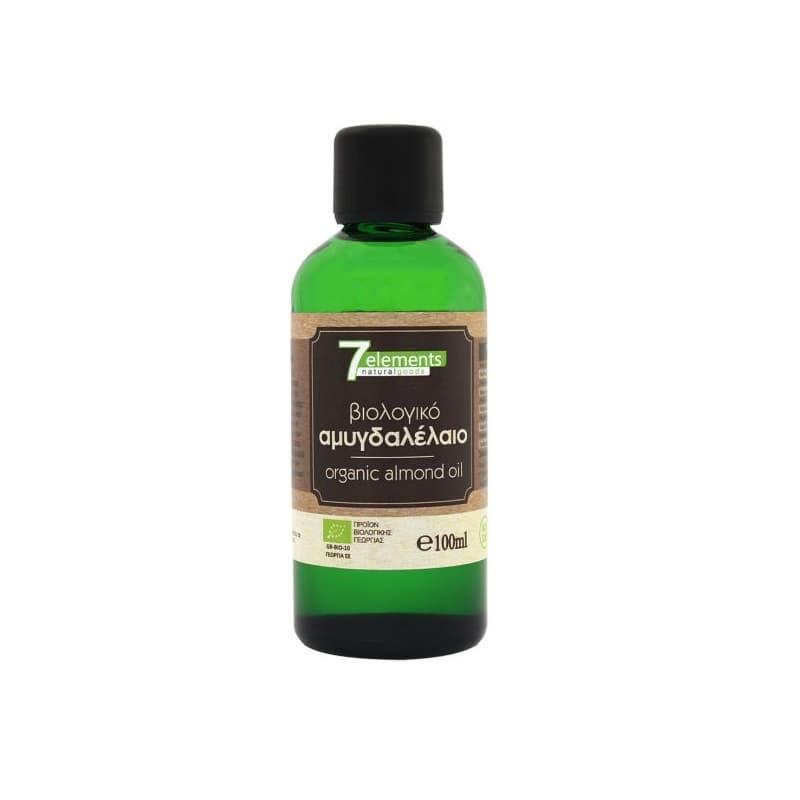Βιολογικό αμυγδαλέλαιο 100ml, 7elements