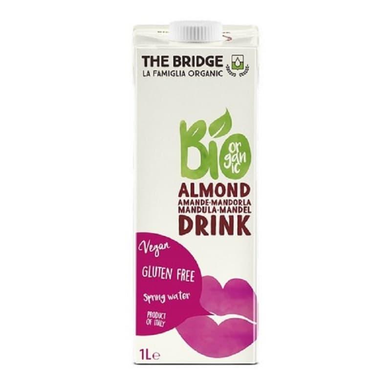 Βιολογικό ρόφημα αμυγδάλου 3% 1L, The Bridge Bio