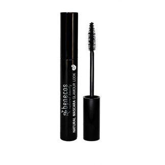 Μάσκαρα Glamour Look (Ultimate Black) 8ml, benecos