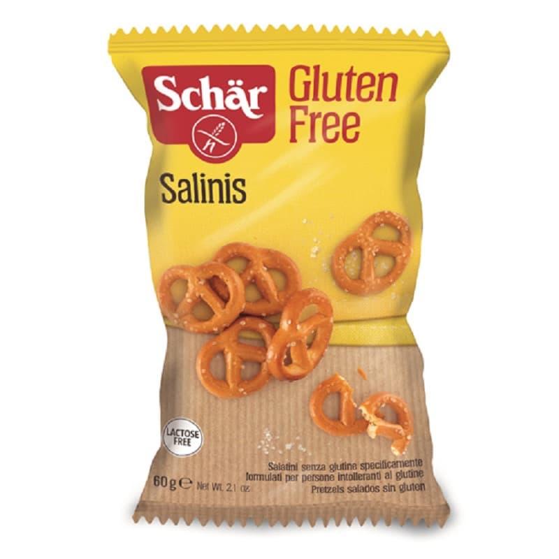 Αλμυρό σνακ πρέτσελ 'Salinis' 60g, Schar