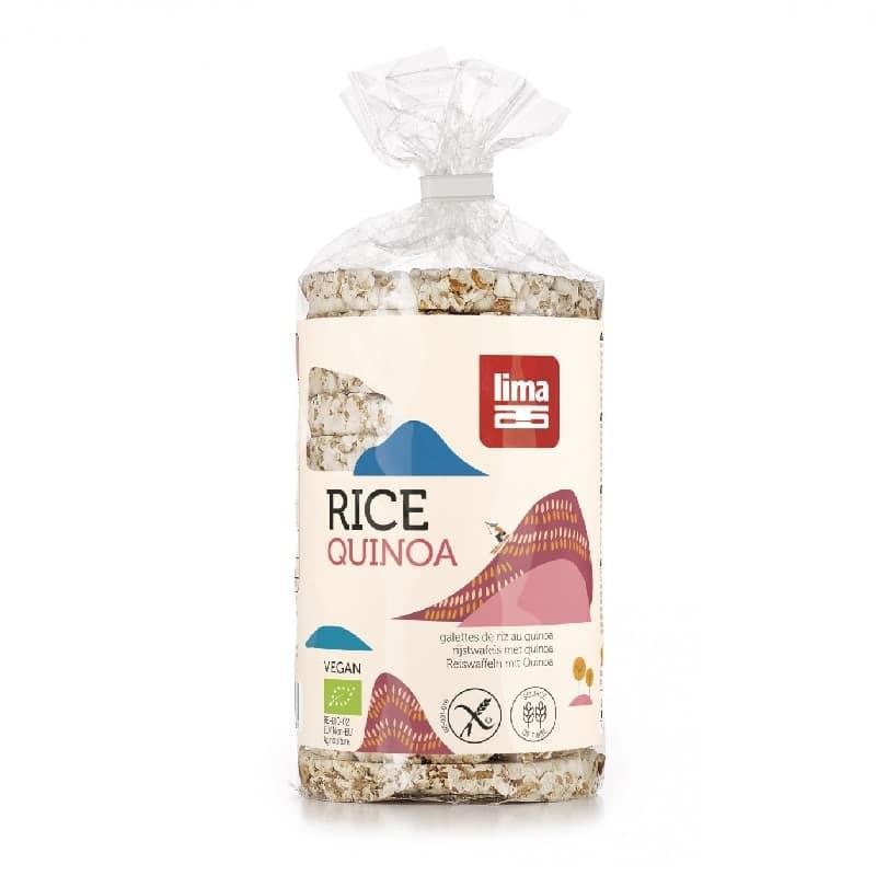 Βιολογική ρυζογκοφρέτα με κινόα 100g, lima