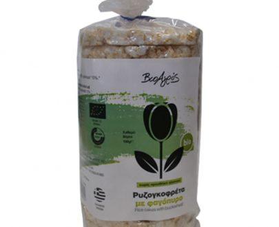 Βιολογική ρυζογκοφρέτα με φαγόπυρο 100g, Βιοαγρός