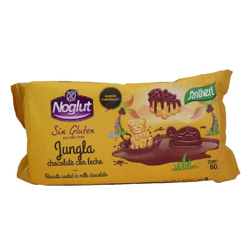 Μπισκότα ζούγκλας με σοκολάτα 60g, Santiveri