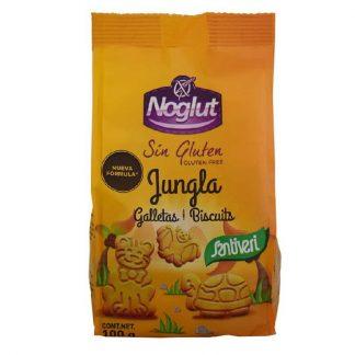 Μπισκότα ζούγκλας 100g, Santiveri