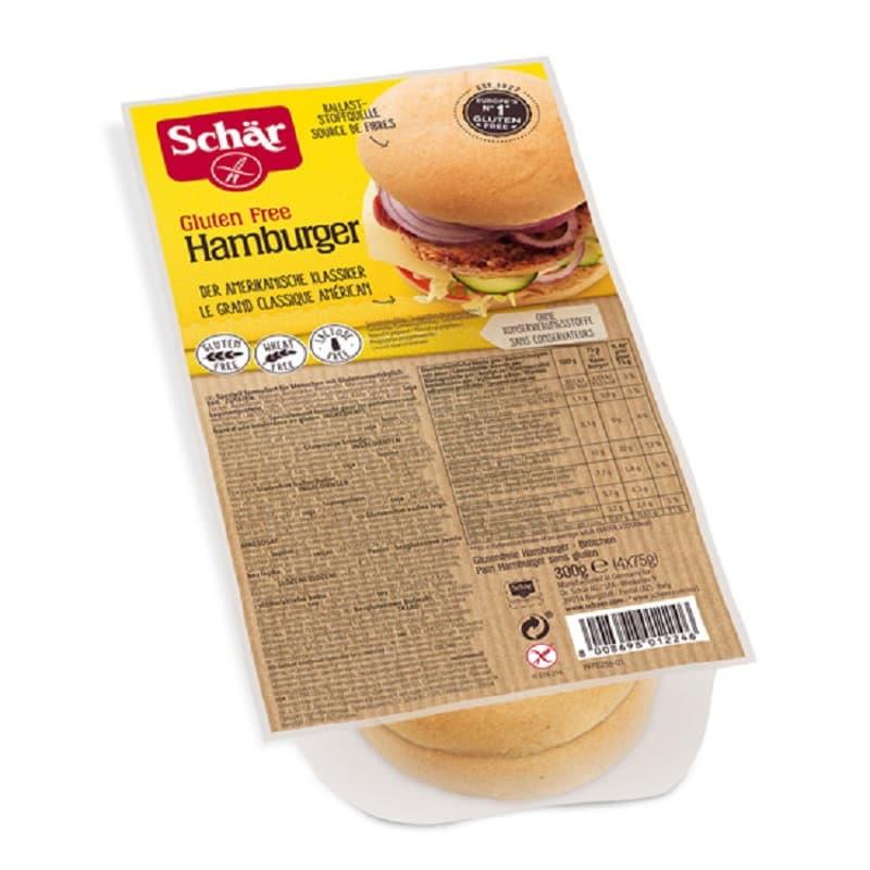 Ψωμάκια για χάμπουργκερ 300g, Schar
