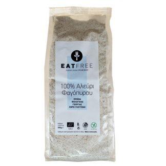 Eat Free βιολογικό αλεύρι φαγόπυρου 500g, Βιοαγρός
