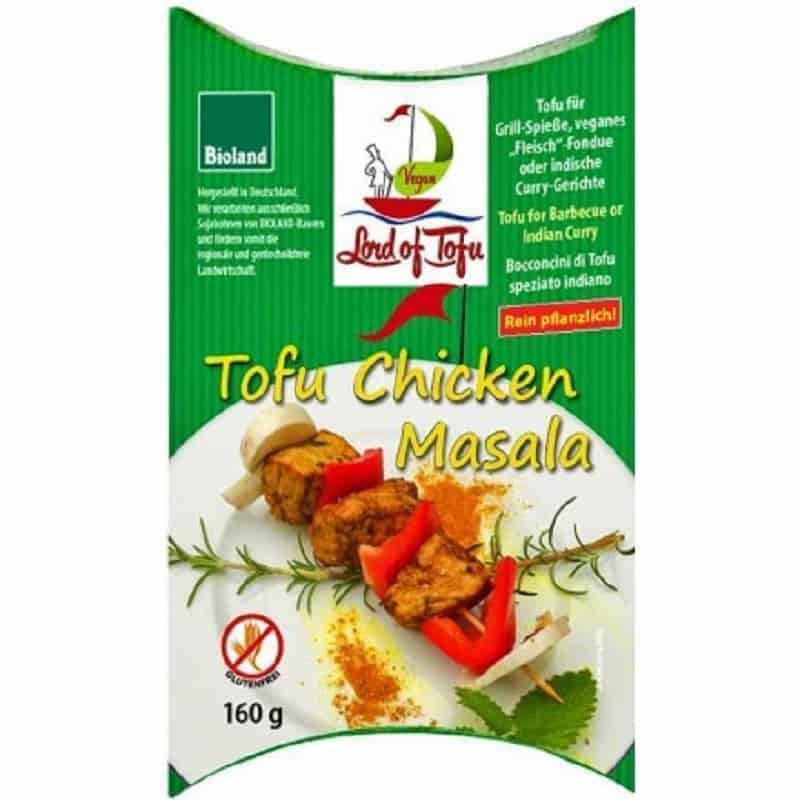 Βιολογικό τόφου κοτόπουλο μασάλα 160g, Lord of Tofu