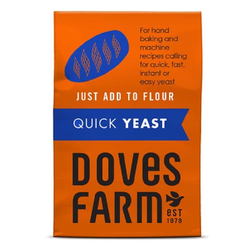 Μαγιά για ψωμί χωρίς γλουτένη 125g, Doves Farm