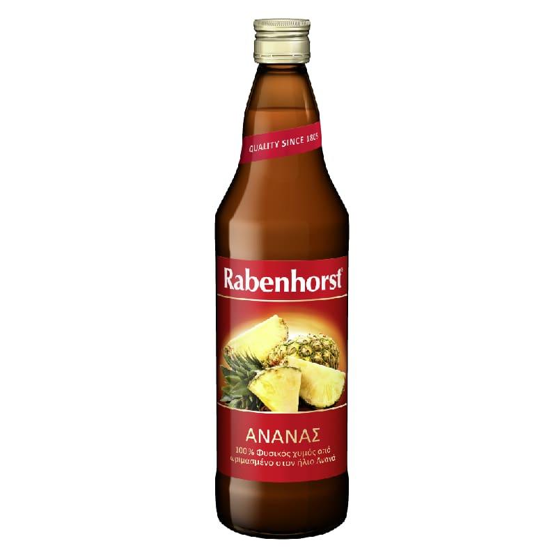 Χυμός 100% ανανά 750ml, Rabenhorst
