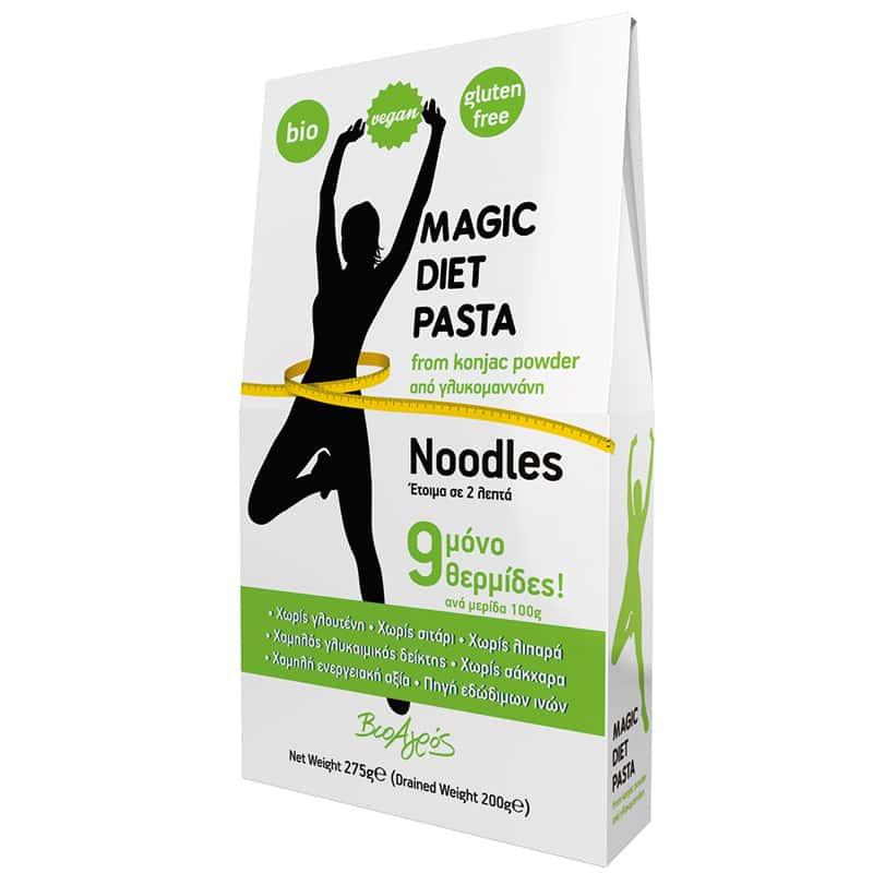 Magic Diet konjac νουντλς 275g, Βιοαγρός