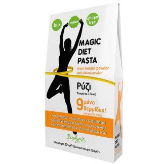 Magic Diet konjac ρύζι 275g, Βιοαγρός