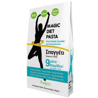 Magic Diet konjac σπαγγέτι 275g, Βιοαγρός