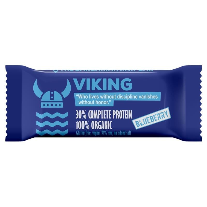 Βιολογική raw μπάρα πρωτεΐνης Viking μύρτιλο 50g, Leya