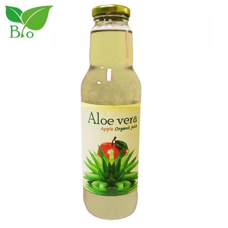 Βιολογικός συμπυκνωμένος χυμός αλόης με μήλο 750ml, Health Trade