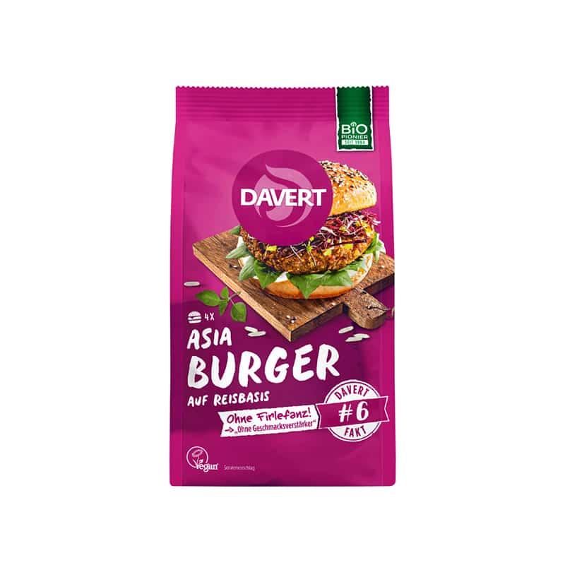 Βιολογικό μείγμα για Asia Burger 160g, Davert