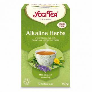 Βιολογικό τσάι Alkaline Herbs 35.7g, Yogi Tea