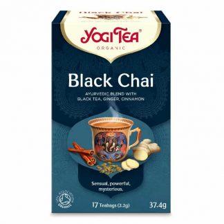 Βιολογικό τσάι Black Chai 37.4g, Yogi Tea