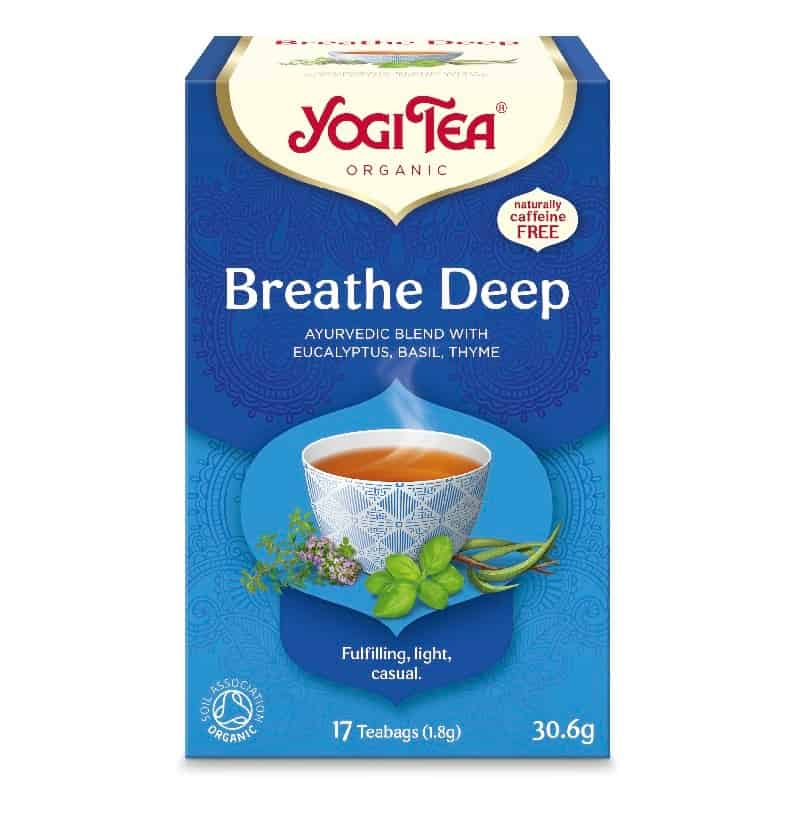 Βιολογικό τσάι Breath Deep 30.6g, Yogi Tea