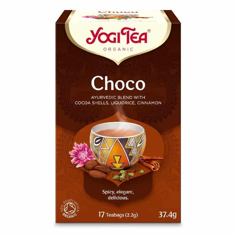 Βιολογικό τσάι Choco 37.4g, Yogi Tea